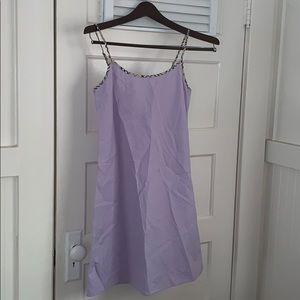 Burberry Lavender Slip Dress
